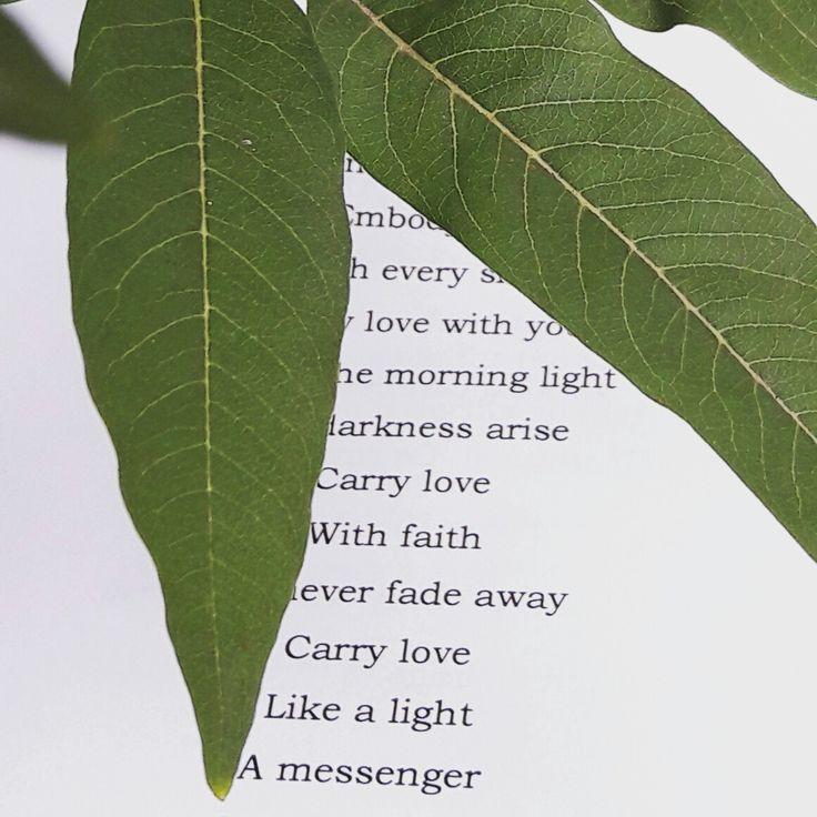 Love poem by Marie Kleber...