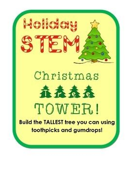 17 best images about engineering challenges for elementary for Activities to do on christmas day at home