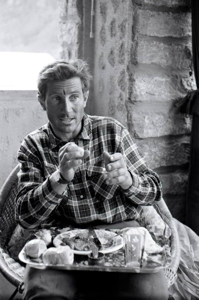 Walter Bonatti, a great italian alpinist