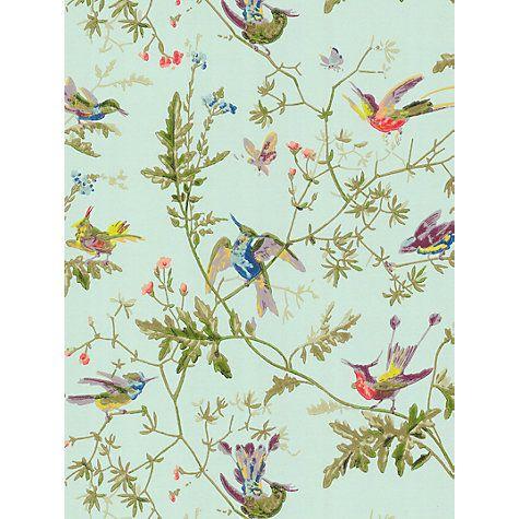 Buy Cole & Son Hummingbirds Wallpaper Online at johnlewis.com