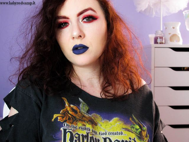 Babyredvamp Makeup: Face Of The Day - The Captain of My Soul (with Mor...