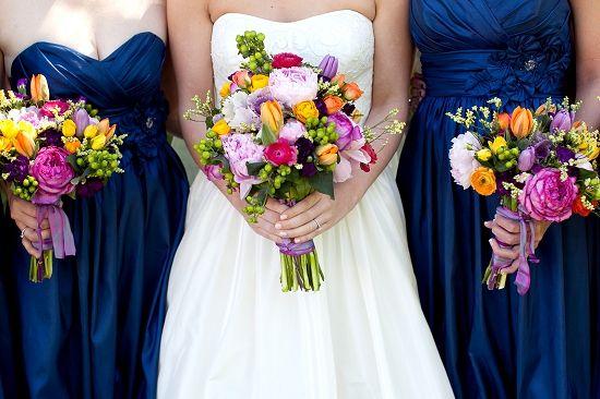 Blue Wedding Gowns: 25+ Best Ideas About Navy Blue Flowers On Pinterest