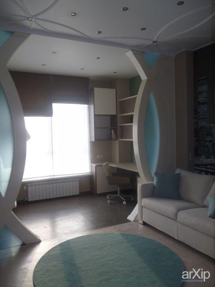 Реализованный проект: интерьер, квартира, дом, современный, модернизм, детская комната, 10 - 20 м2 #interiordesign #apartment #house #modern #nursery #10_20m2 arXip.com