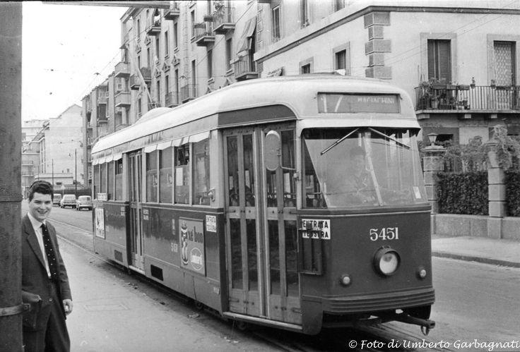 """....vettura """"all electric""""  ATM-5451,  (vettura non più esistente).... anno 1963 - © Umberto Garbagnati -"""