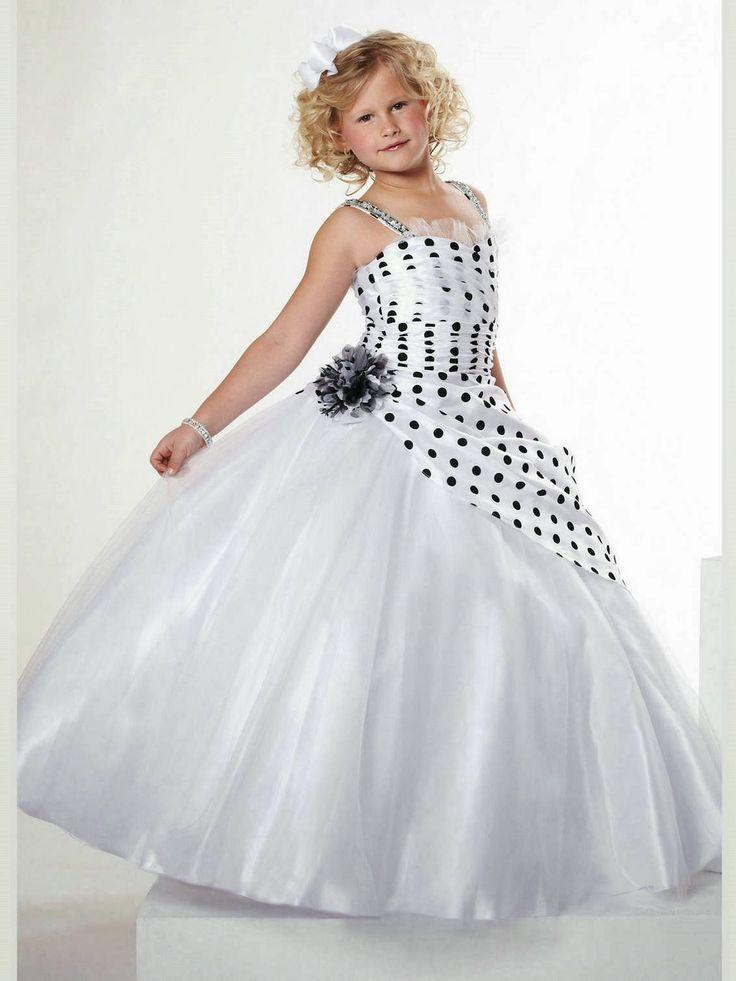 Lindos Vestidos de fiesta para niña   Moda y Tendencias