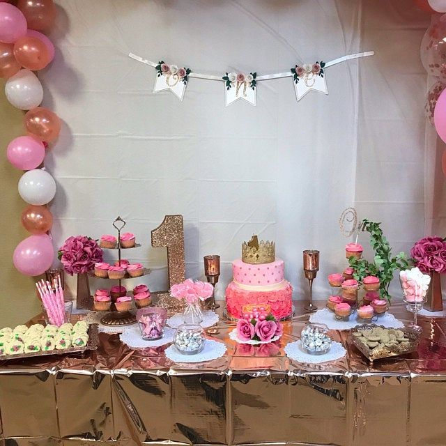 Cake Table Decoration Small