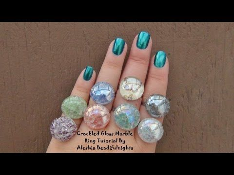 Tutorial Glass Ring crocs   shox YouTube Crackled M clearance Marble mens