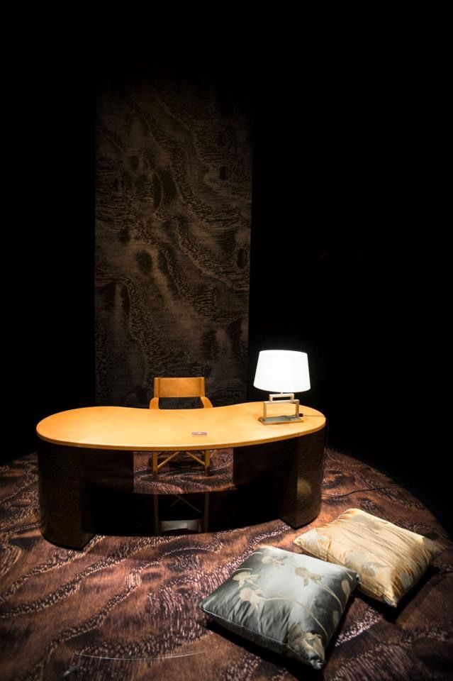 Furniture, Beautiful Italian Master Designer Giorgio Armani Curve Work Desk  Design Nature Ideas Furniture ~ Exclusive Giorgio Armani Furniture  Completing ...