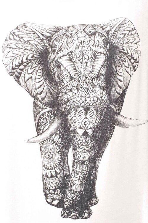 животные, искусство, нарисованное, слон, гранж, хипстер, инди, любовь