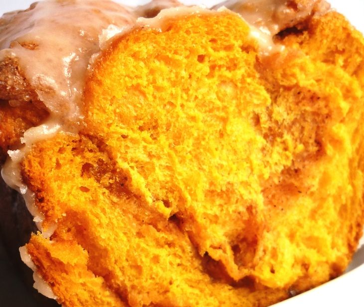 Отрывной тыквенный сахарный хлеб (не проходите мимо!!!) пошаговый рецепт с фотографиями