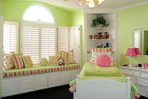 : Idea, Color, Kids Room, Girls Room, House, Green Room