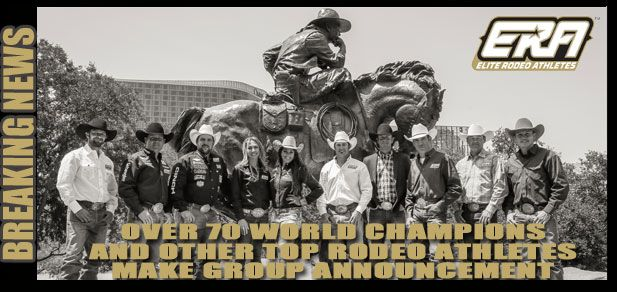 See the breaking news now at www.erarodeo.com or on facebook @ERARodeo
