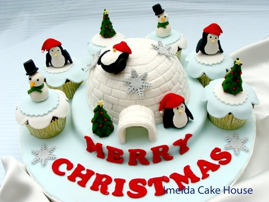 17 Best images about Christmas Cake Ideas on Pinterest ...