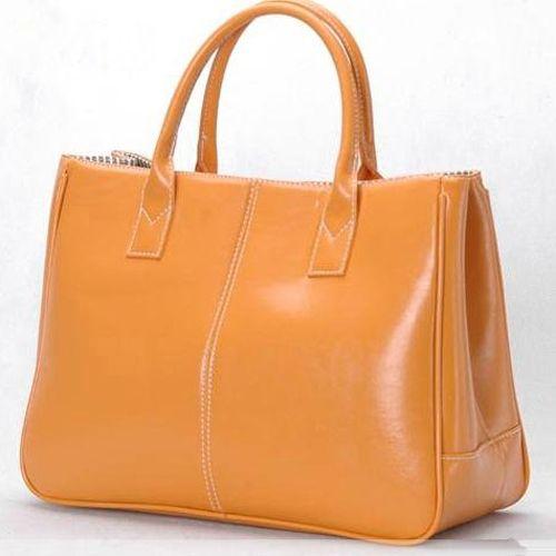Дешевле! Мода свободного покроя женщины сумки сумочка леди PU сумочку кожаный мешок оранжевый E08 / K