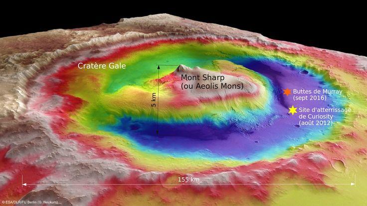 En juillet 2016, la NASA a donné son feu vert à la 2e extension de la mission du rover Curiosity. Elle va débuter le 1er octobre au pied du Mont Sharp. 3 questions à Francis Rocard, responsable des programmes d'exploration du Système solaire au CNES.