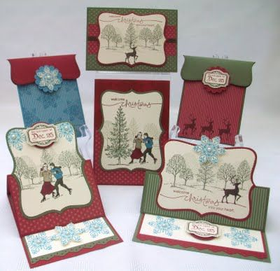Stampin up! winter Post