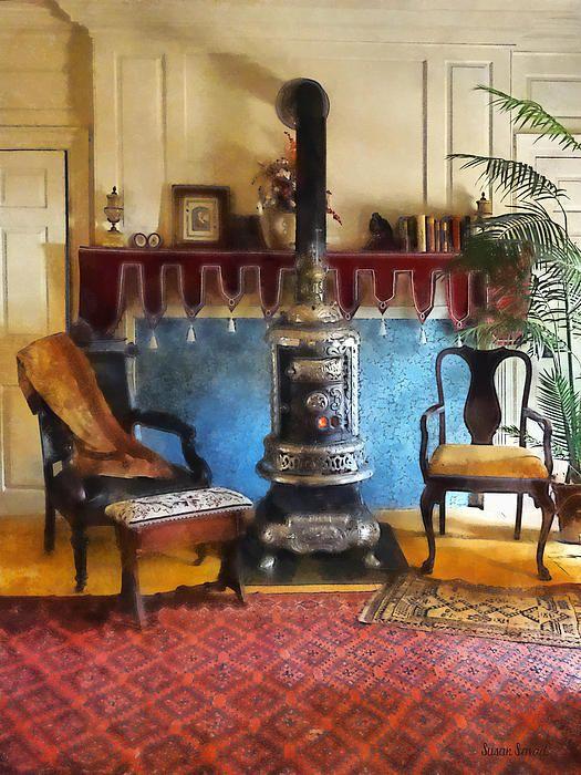 'Cozy Victorian Parlor'
