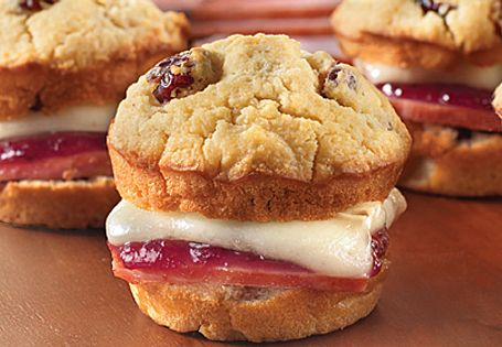 ALDI US - Ham and Brie Sandwiches with Cranberry-Honey Mustard