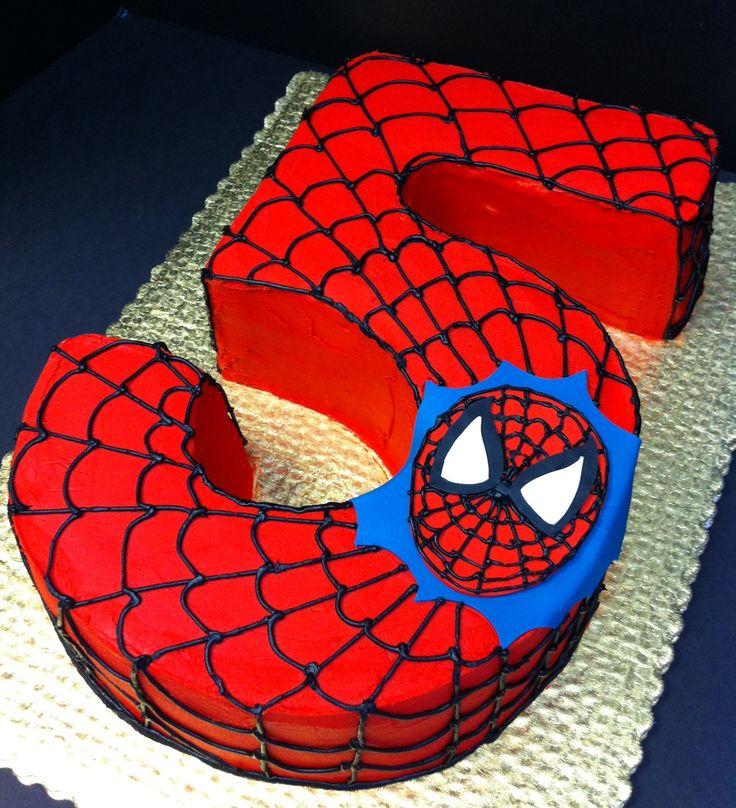 Spiderman cake ideas - photo#3