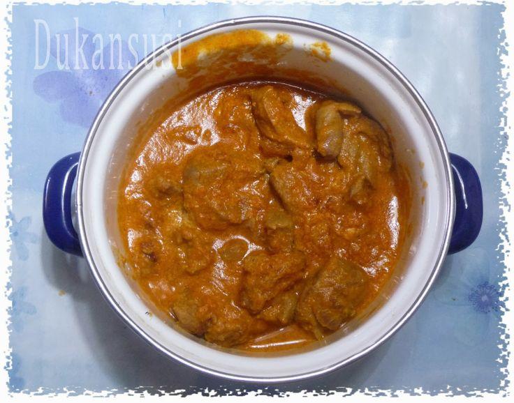 Recetas Dukan - Dukansusi: Pavo guisado al curry. Fase Ataque
