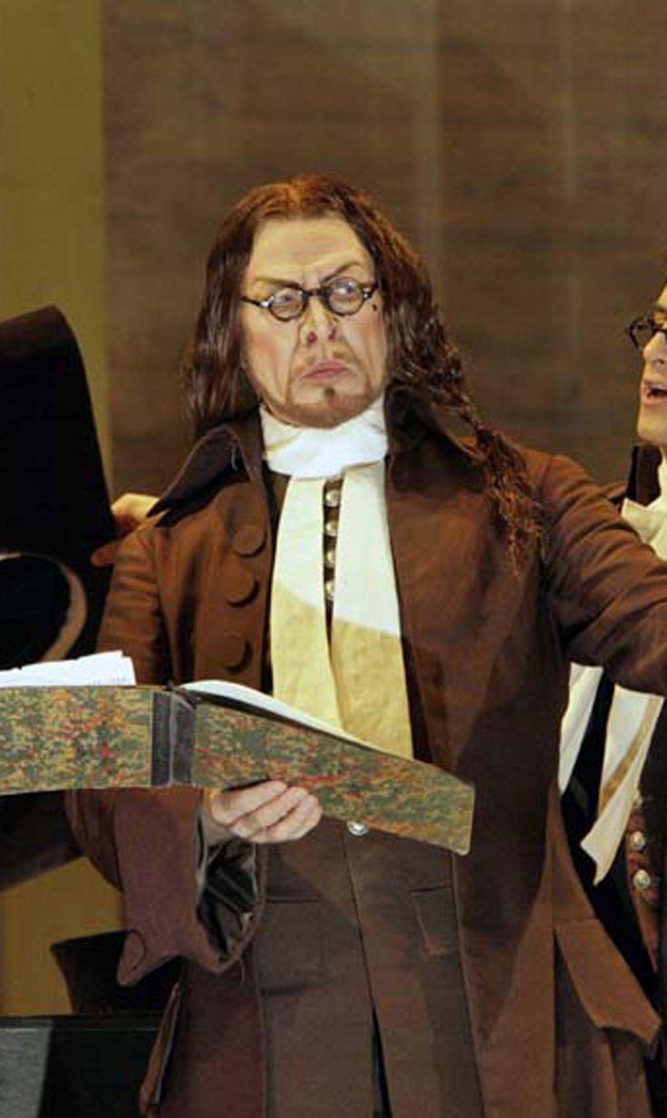 Samuel Ramey, costumi di Catherine Zueber, regia di Bartlett Sher, MET, 2006.