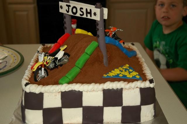 Motorcross 2 Cake