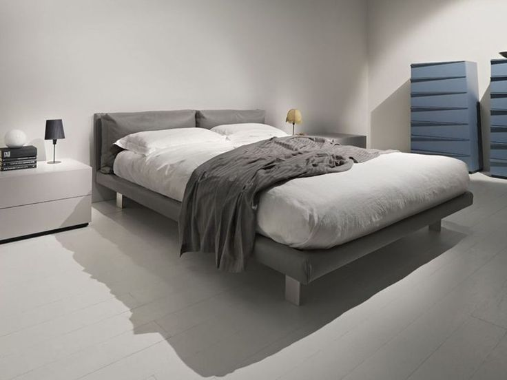 Ghost Il Letto Tessile Dalle Linee Semplici E Pulite / Ghost The  Upholstered Bed With Its Simple And Clean Shapes Design Antonella Frezza