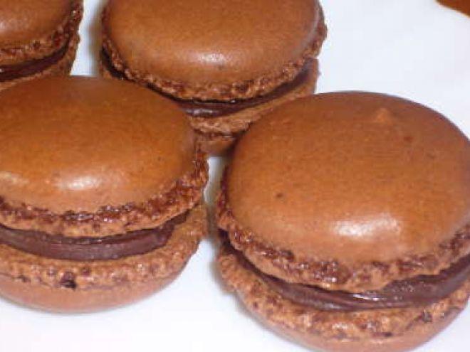 Mes premiers macarons au chocolat