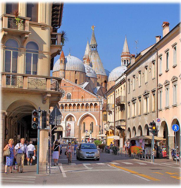 street in Padova, Italy