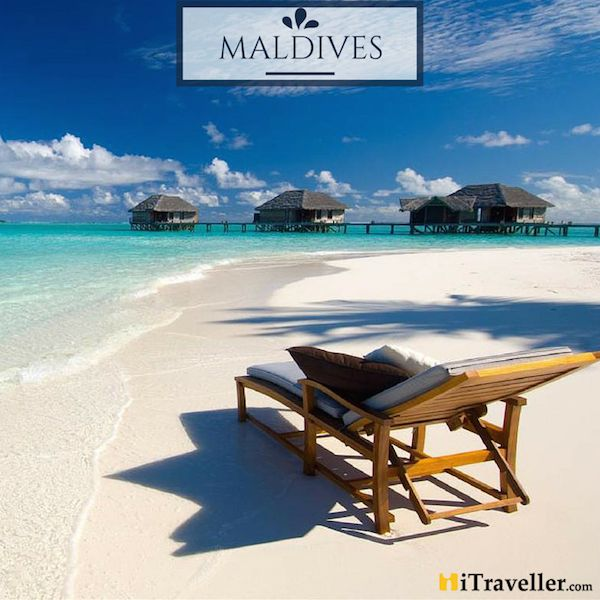 Vacation in the land of sun kissed beaches and crystal blue waters - #Maldives welcomes you! #travel #wanderlust #Maldives #iTraveller
