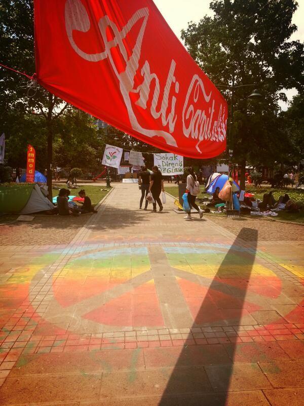 This is what democracy looks like. #occupytaksim #occupygezi #direngezi #direngeziparki #anticapitalist