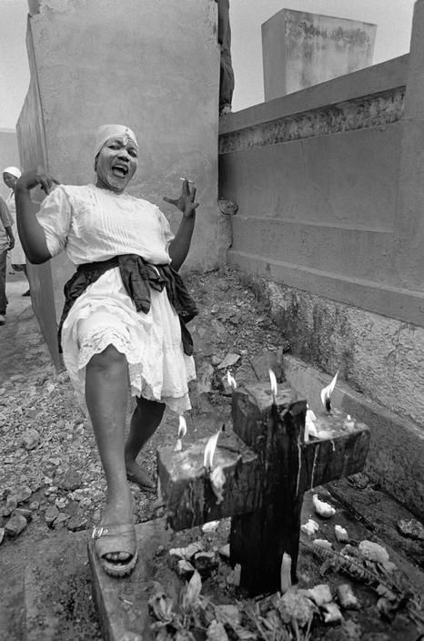 Cristina Garcia Rodero HAITI. Port au Prince. Death-Day. Via Magnum Photos