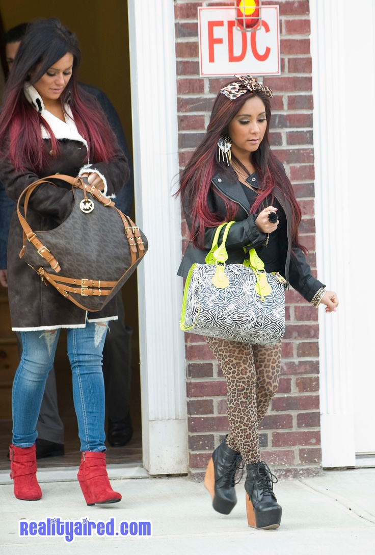 Snooki and JWOWW Arrive In Jersey City to Begin Filming Spinoff
