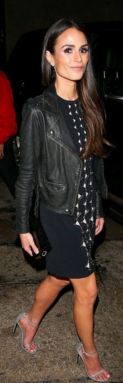 Jordana Brewster: Dress -David Koma Purse – Edie Parker Shoes – Stuart Weitzman Earrings – Tasaki