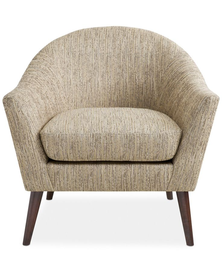 Collin Fabric Accent Chair Direct Ship
