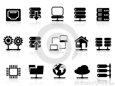 Server and database icon by Huhulin, via Dreamstime