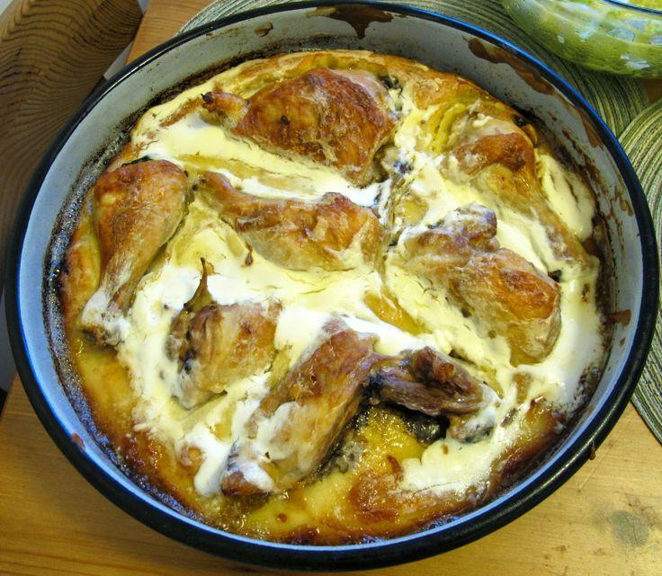 World Traveler Recipes: Kvrgusa - Bosnian Chicken Pie