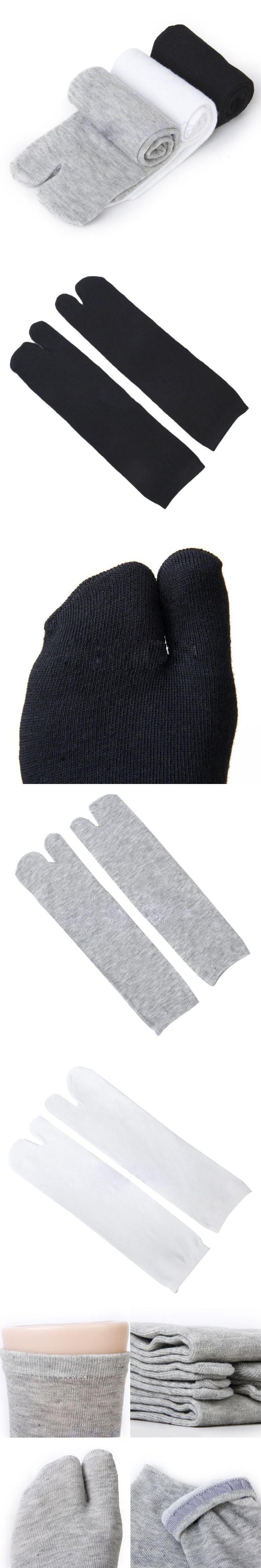 3 Pair/Lot Footful Men Women Tabi Socks Split Two Toe Japanese Kimono Geta Flip Flop