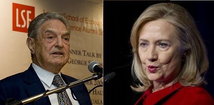 One of the emails released by Wikileaks indicates George Soros gave then Secretary of State Hillary Clinton marching orders regarding Albania.