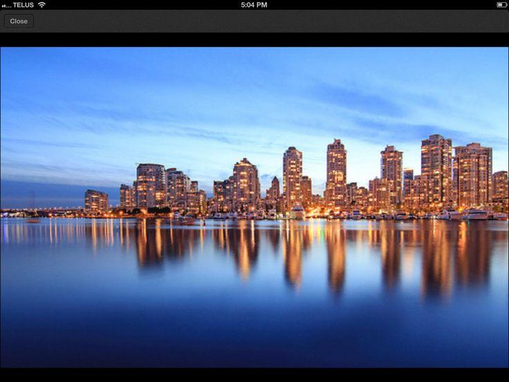Visit Vancouver iPad app photo