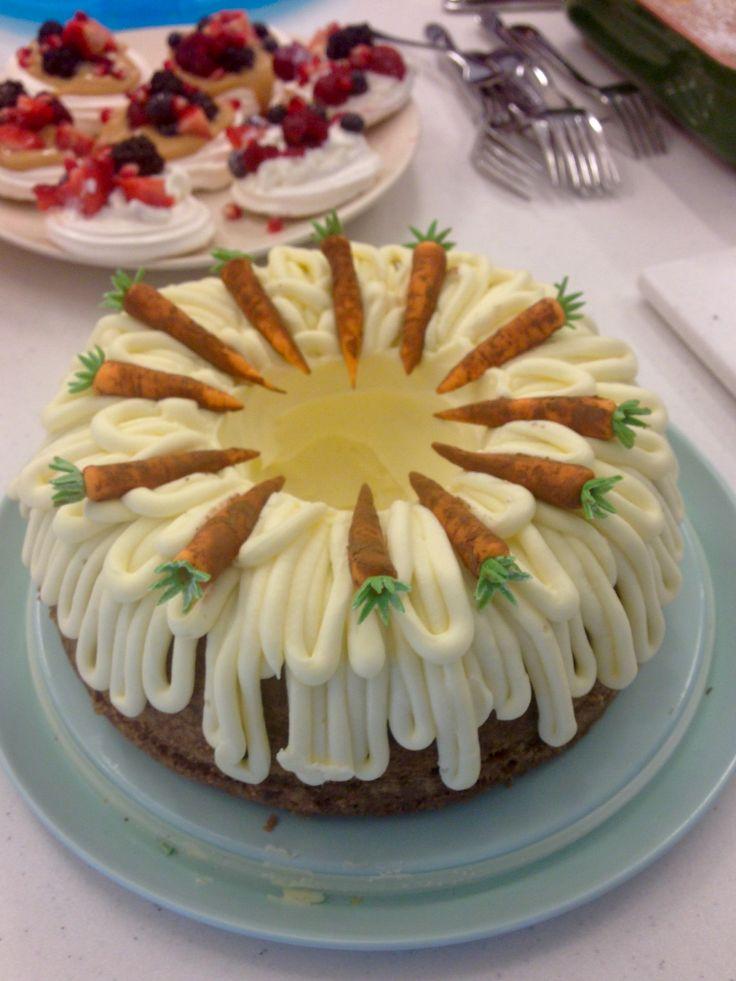 Carrot cake for work bake sale April 2016