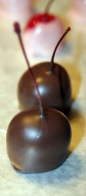 liquor soaked chocolate covered cherries