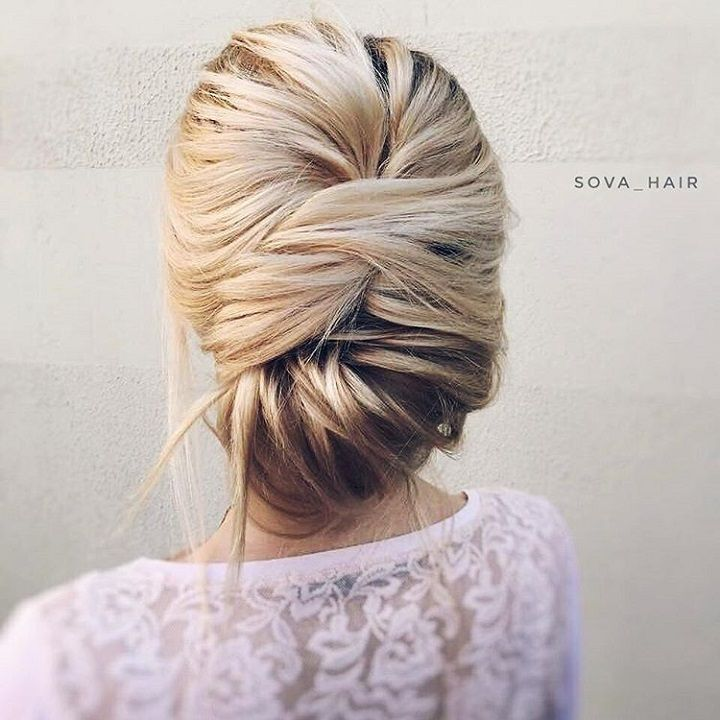 Wedding hairstyle | updo wedding hairstyle