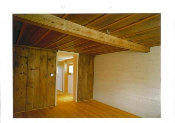 Bauernhaus-Zimmer einrichten (niedrige Decken und Holz, Holz, Holz...) (Einrichtung, holzwände)
