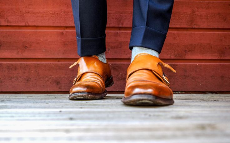 Bresciani socks with double monks​