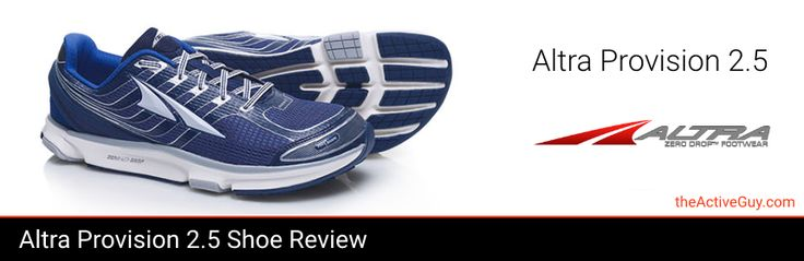 The Altra Provision 2.5 Shoe is a zero drop performance stability running shoe…