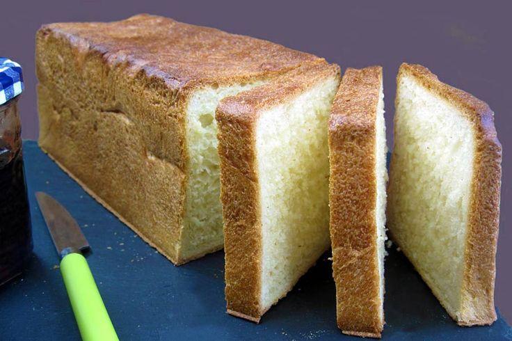 Voici une recette de pain de mie Thermomixmoelleux et inratable,idéal pour les sandwichs, les croques monsieur, les tartines de pain