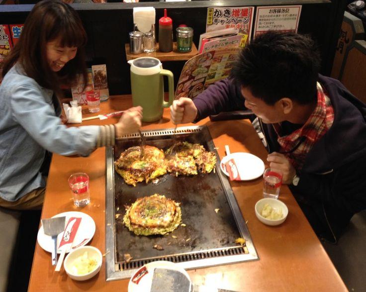 Okonomiyaki ( Japanese Pizza) | My Japanesque recommends