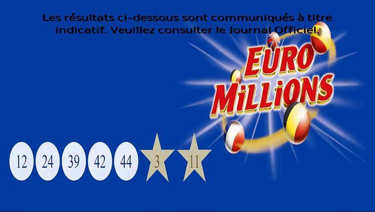 Les résultats de l'Euromillions du 13 février 2015