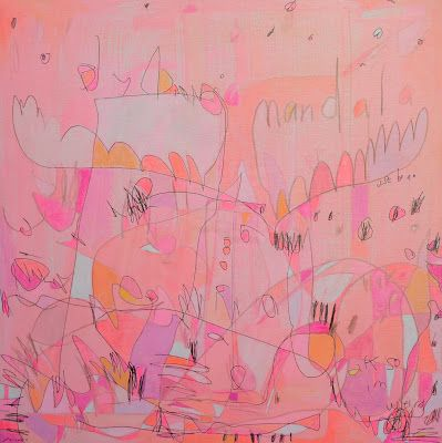 Art in the Abstract modern painting - Jennifer Mercede